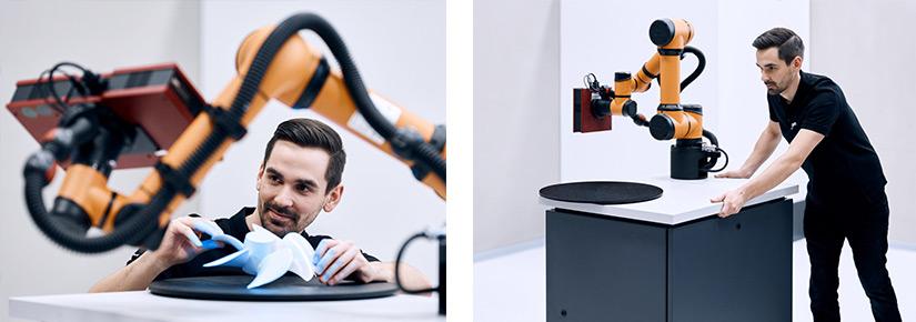 Modello GOM ScanCobot