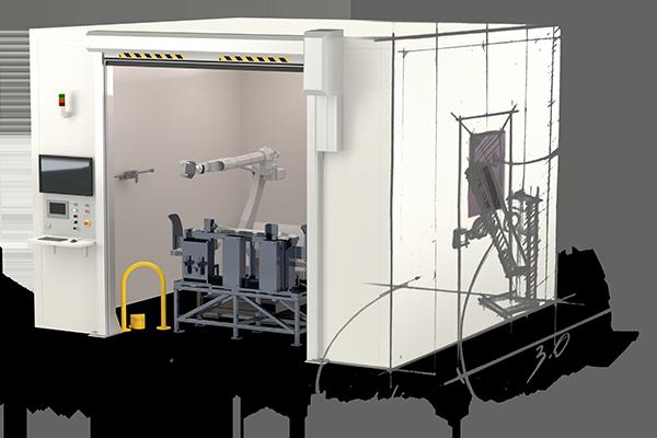 Impianti di misura customizzati per la scansione 3D