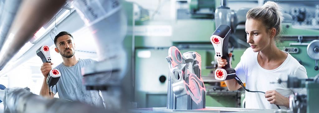 Scanner 3D T-Scan hawk