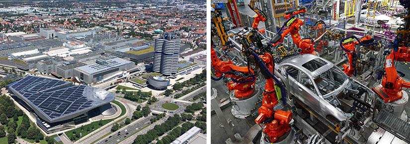 Stabilimento BMW a Monaco di Baviera