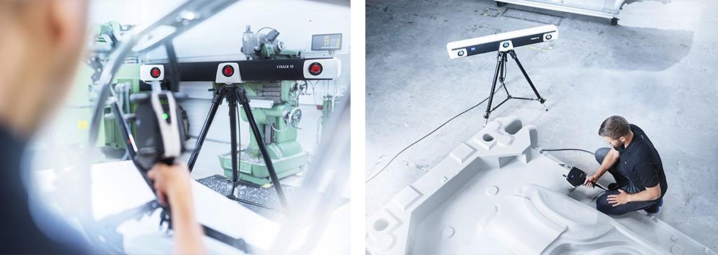 Soluzione di misura a lama laser T-Scan